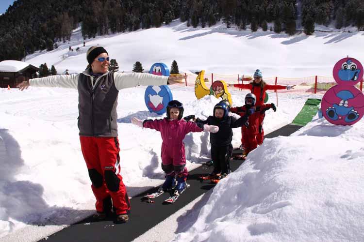 Kids  Schischule Vent  Ötztal